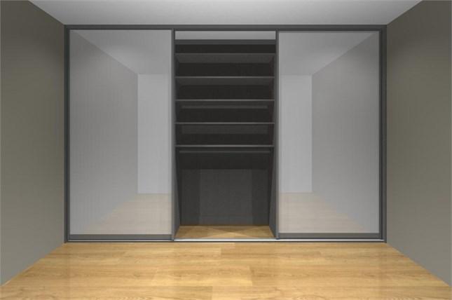 Шкаф купе для детской комнаты с модулями